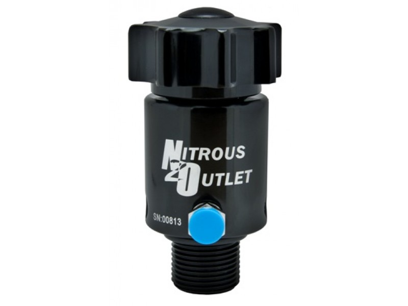 Nitrous Outlet Billet High Flow Valve for 15lb Bottle