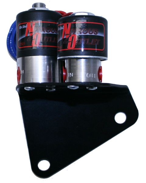Nitrous Outlet LS1 All-in-One Solenoid Bracket