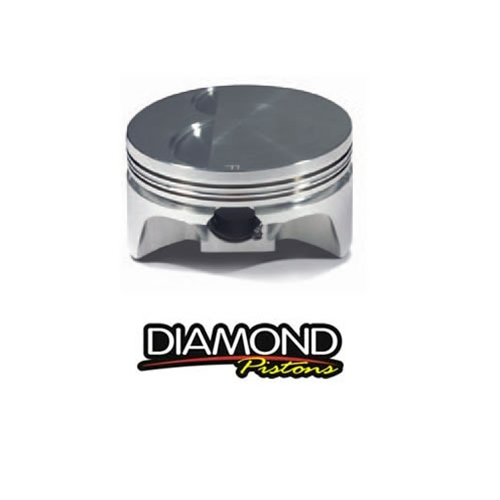 "L92/LS3 Diamond Pistons Forged Flat Top w/-2cc Valve Reliefs, 4.005"" Bore 3.622"" Stroke (6.125"" Rods)"