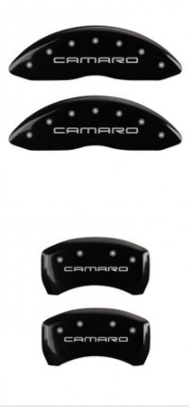 98-02 Camaro Black Camaro MGP Caliper Covers