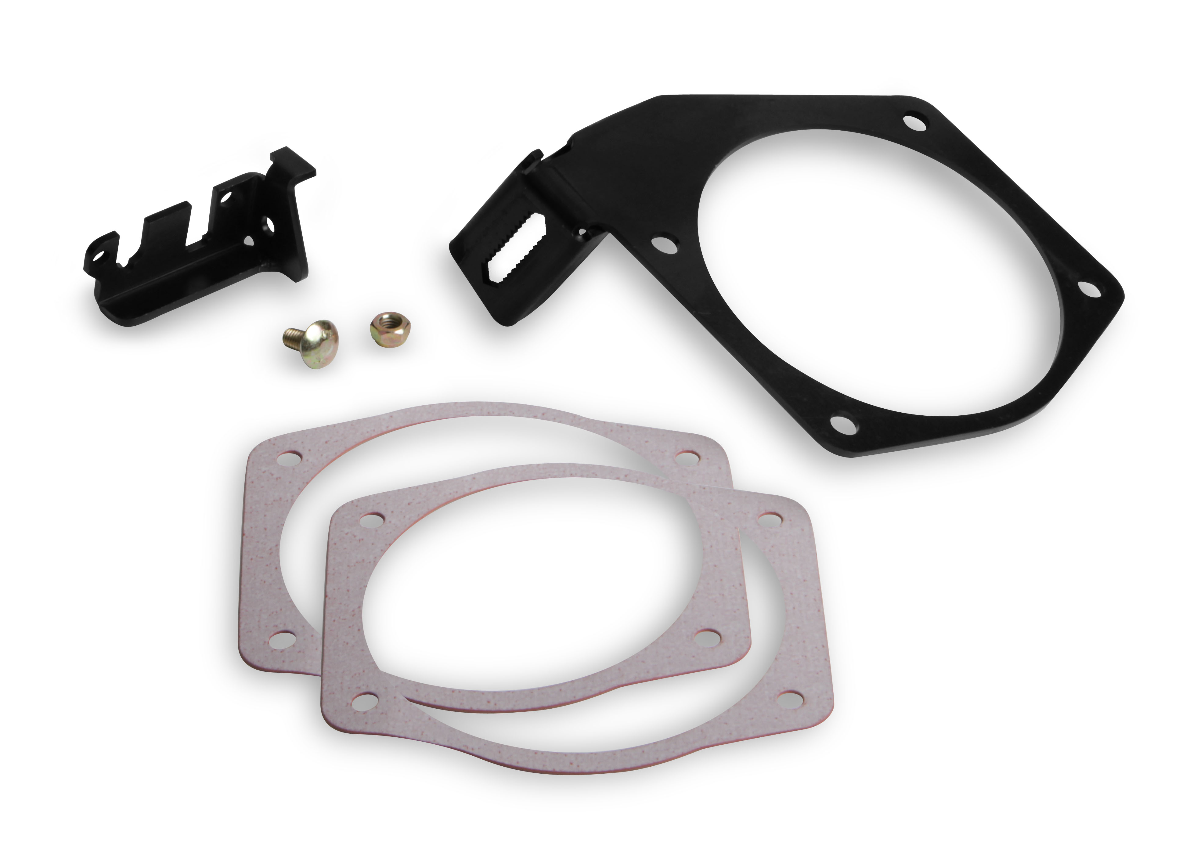 LS Holley Cable Bracket for 105mm Throttle Bodies & Factory or FAST Style Intakes