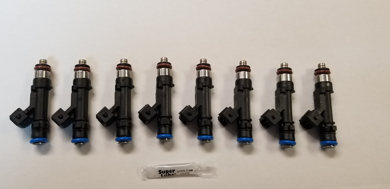 LS1/LS6 Bosch 42# Fuel Injectors (Set of 8)