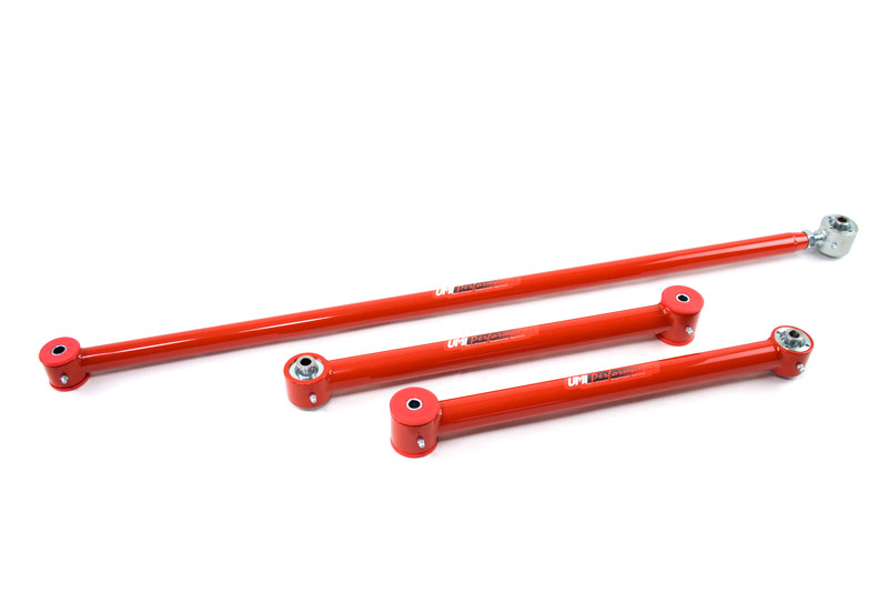 82-02 Fbody UMI Performance Lower Control Arms & Panhard Bar Kit- w/ Roto-Joints & Poly Combo