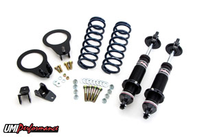 82-02 Fbody UMI Performance Rear Coil Over Kit w/Single Adjustable Monotube Shocks