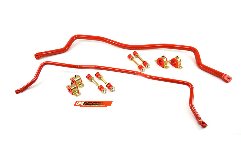 93-02 Fbody UMI Performance Solid Front and Rear Sway Bar Kit