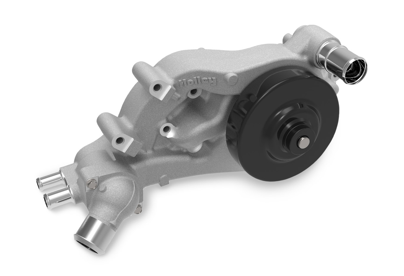 LS Series Holley Standard Long Alignment Water Pump w/Forward Facing Water Inlet