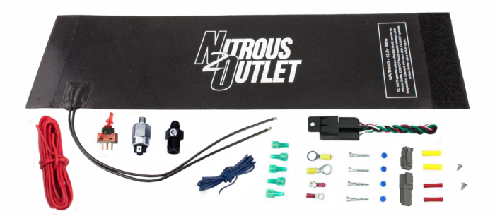 Brand X-Series Nitrous Bottle Heater with Installation Accessories For 10/12/15lb Bottles