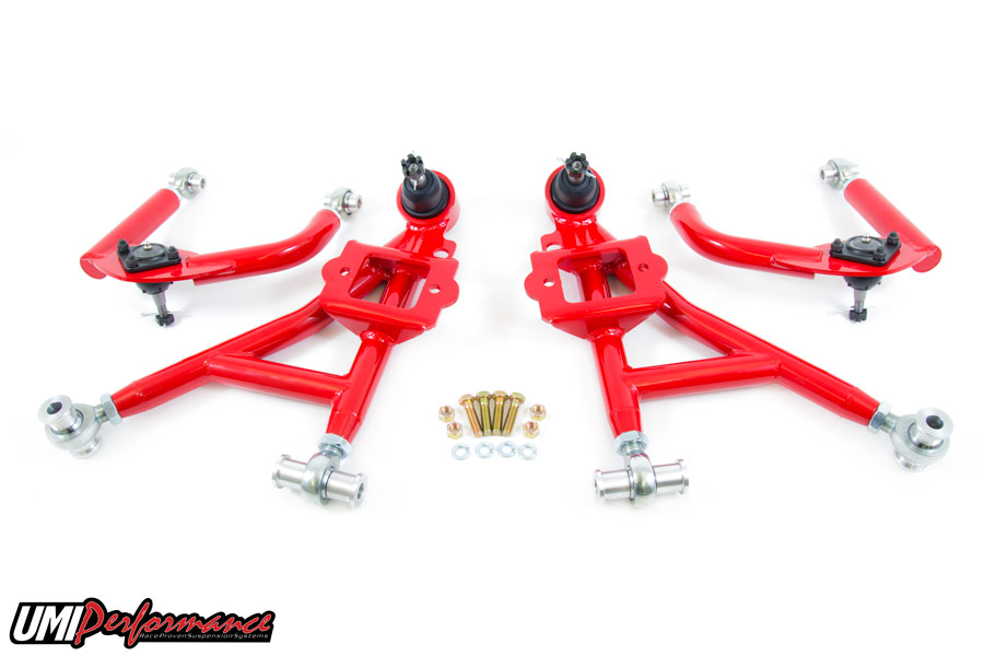 230010-0.jpg - 93-02 Fbody UMI Performance Front Lower and Upper Control Arms(Drag Kit)