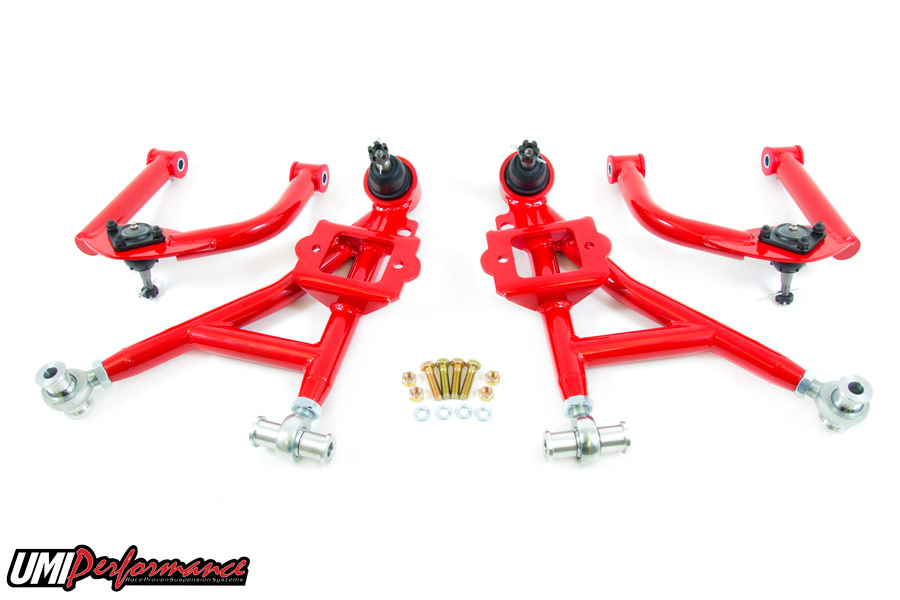 93-02 Fbody UMI Performance Front Upper and Lower A-Arm Kit
