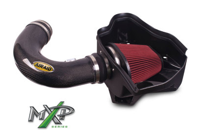 2010-2013 Camaro SS 6.2L V8 AIRAID MXP Cold Air Intake System w/Carbonfiber Tube (Dry/Red Media)