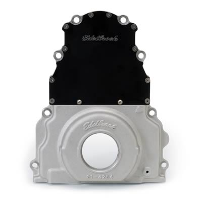 LS1 Edelbrock Two-Piece Aluminum Timing Cover