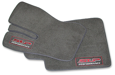 "93-02 Camaro/Firebird SLP  ""SLP Performance"" Front Floor Mat Set - Dark Gray"