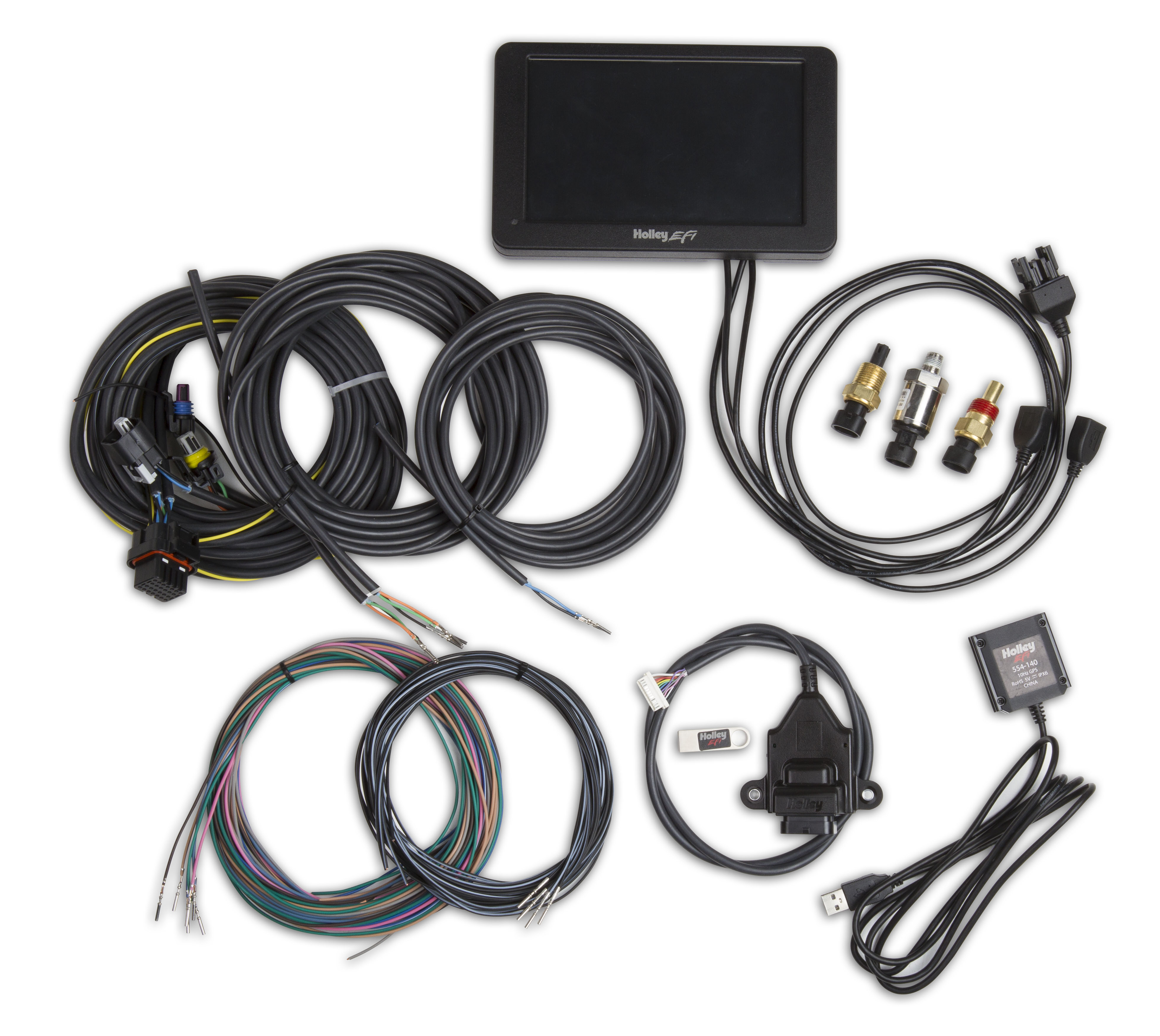 "Holley Stand Alone 7"" Digital Dash Kit"