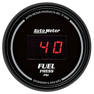 "Autometer Digital Series 2 1/16"" Fuel Pressure Gauge (5-100psi) - Black"