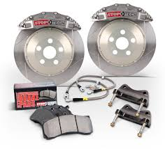 98-02 Fbody Stoptech Front Sport Brake Kit w/2 Piece Slotted Rotors - Trophy
