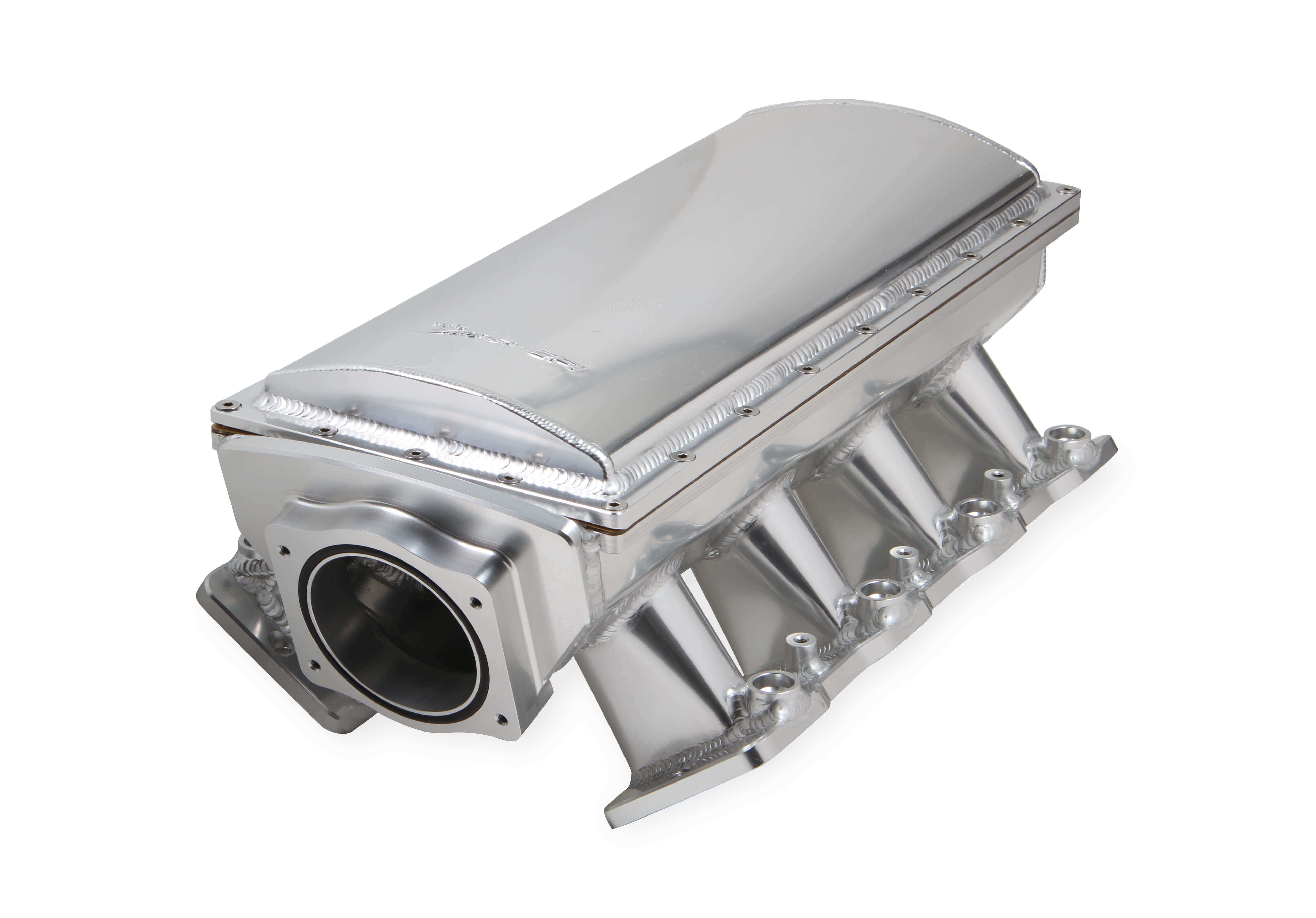 LS3/L92 Holley Sniper EFI Fabricated Race Series Intake Manifold - 90mm Silver