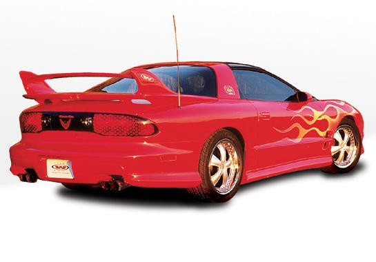 98-02 Pontiac Trans Am Wings West W-Typ Polyurethane Side Skirts