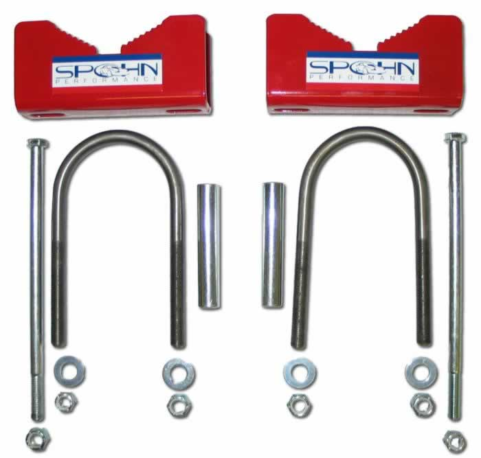 Spohn Performance Aftermarket Rear Sway Bar Mounting Kit
