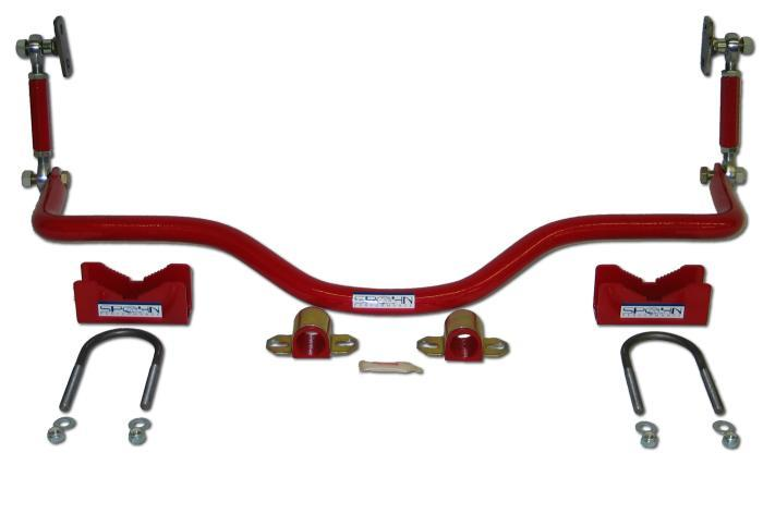 82-02 Spohn Pro-Series Rear Drag Sway Bar