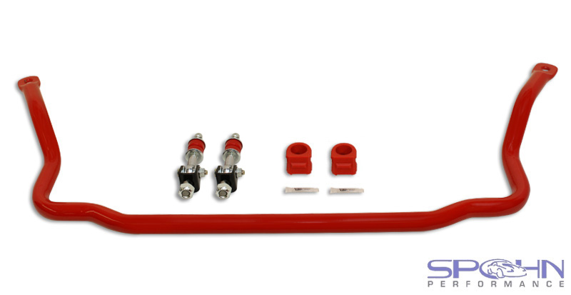 "82-02 Fbody Spohn Performance RRx Front 1.375""  Tubular Chromeoly Rear Sway Bar w/Spherical End Links"