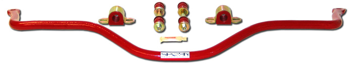 "98-02 Spohn Perf. 1"" (25mm) Solid 4140 Rear Sway Bar"