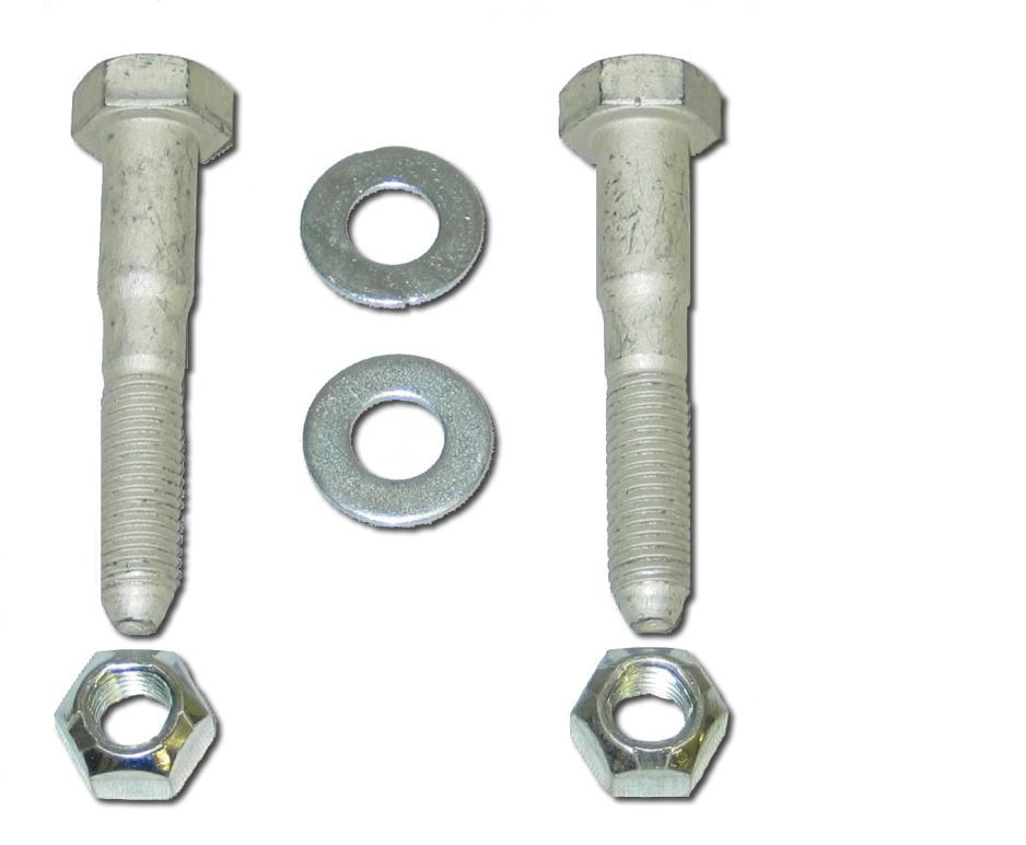82-02 Spohn Panhard Bar Mounting Hardware Kit
