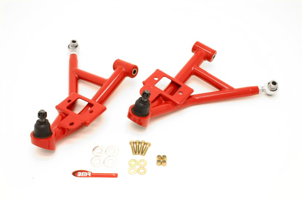 "93-02 F-body BMR Fabrication Lower Adjustable A-Arms (Polyurethan/Rod End Combo) 1"" Lowering"