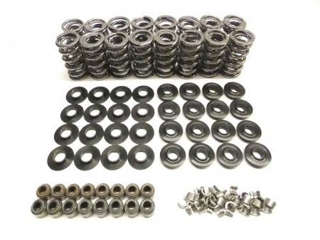 "LS Series Brian Tooley Platinum Dual Valve Spring Kit w/Tool Steel Retainers (.660"" Lift)"