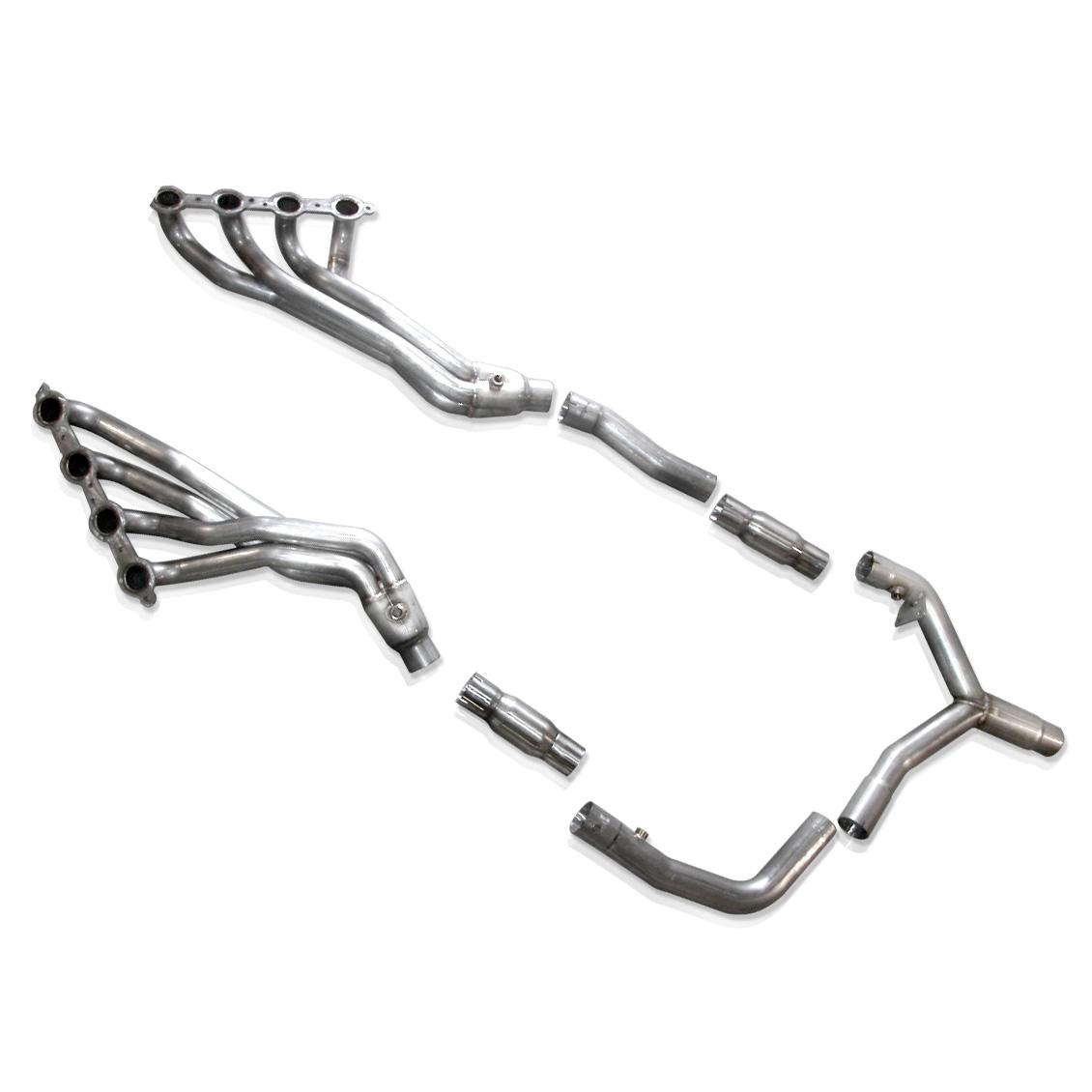 "2000 LS1 Fbody Stainless Works Long Tube Headers with High Flow 2.5"" Catted Ypipe"