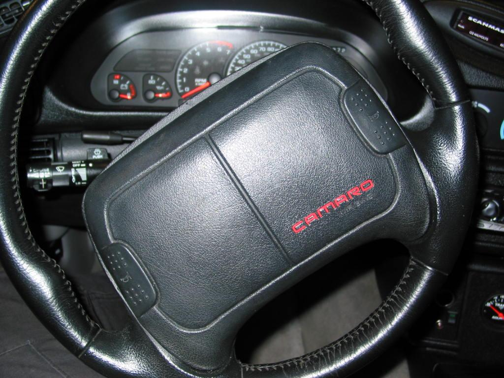 93-02 Camaro Steering Wheel Decal Inserts
