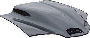 "98-02 LS1 Firebird VFN Fiberglass 4"" WS6 Ram Air Bolt On Hood w/Factory Grill Inserts"