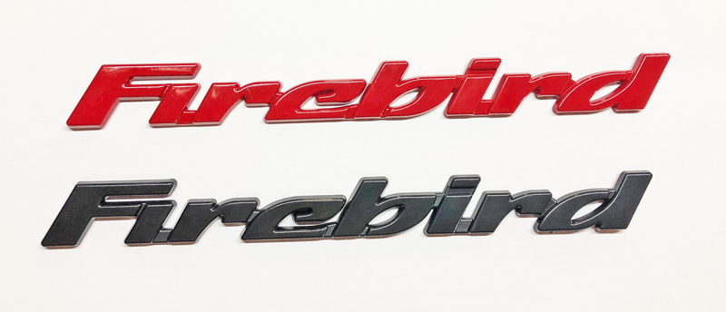 93-02 Fbody Max Performance Firebird Door Emblems