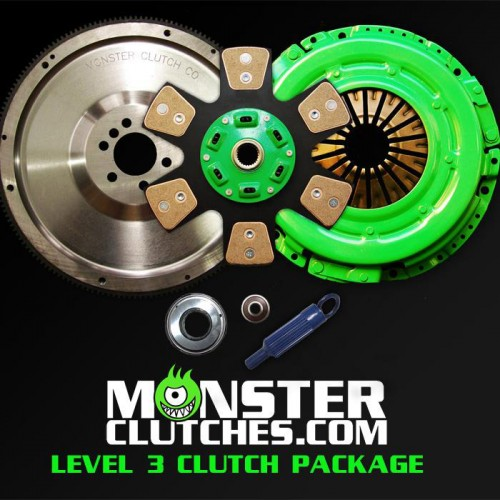 "Monster Clutch Level 3 Clutch LSX Engine 12"" Package - (700hp/tq)"
