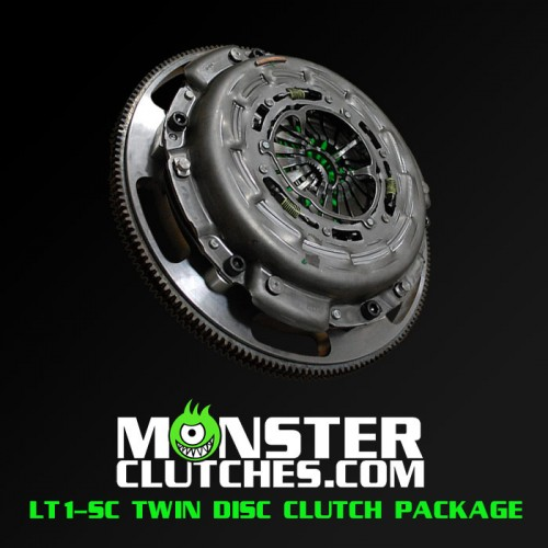 Monster Clutch LT1-SC Twin Disc Fbody Clutch - 1000 hp/tq