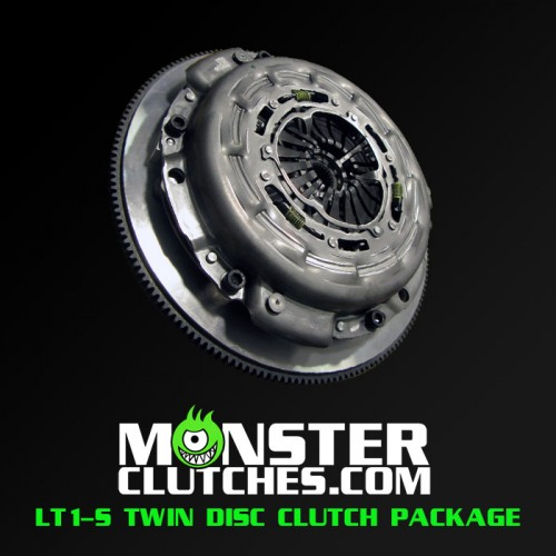 Monster Clutch LT1-S Twin Disc Fbody Clutch - 700 hp/tq