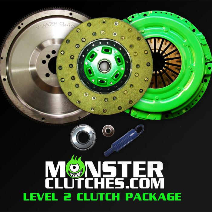 "Monster Clutch Level 2 Clutch LSX Engine 12"" Package - Fbody (525hp)"