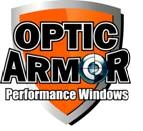 "93-02 Fbody Optic Armor Drop In Blacked Out Rear Window - 3/16"" Thick (Optic Armor Coat Dark Tint)"
