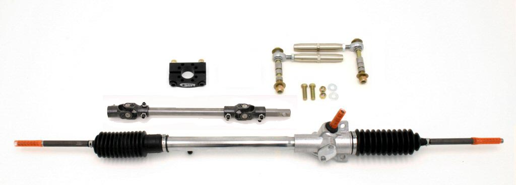 93-02 LS1/LT1 Fbody BMR Fabrication Bolt-In Manual Rack and Pinion Conversion Kits