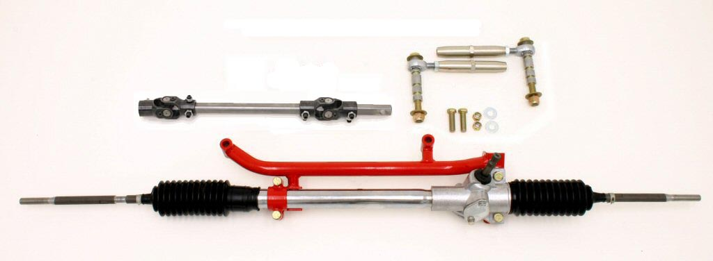 93-02 LS1/LT1 Fbody BMR Fabrication Bolt-In Manual Rack and Pinion Conversion Kits (Includes BMR Tubular Rack Adapter)