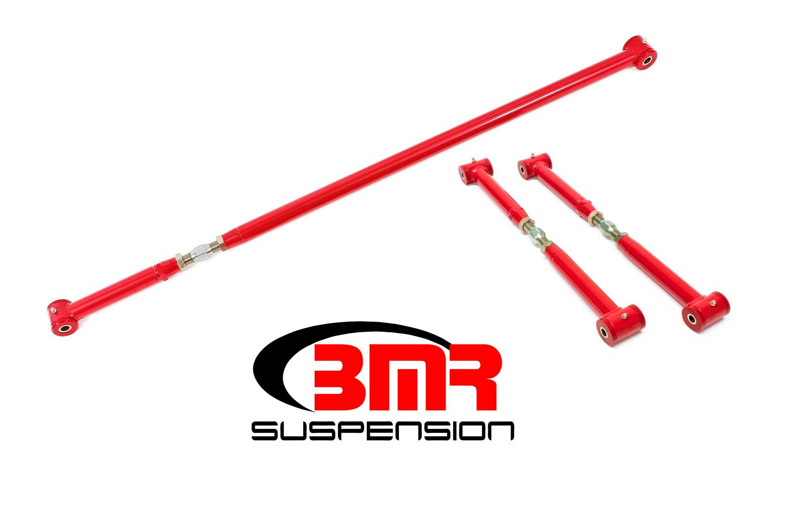 82-02 Fbody BMR Suspension On Car Adjustable Rear Suspension Kit - Poly/Poly End