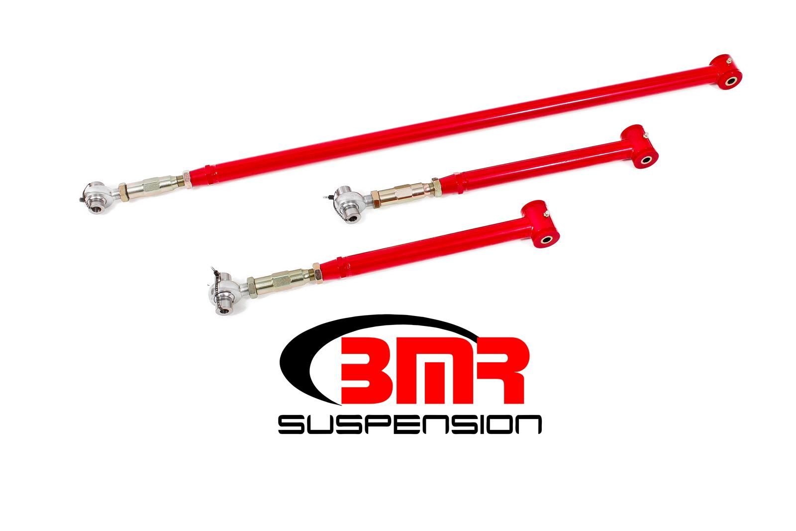 82-02 Fbody BMR Suspension On Car Adjustable Rear Suspension Kit - Poly/Rod End