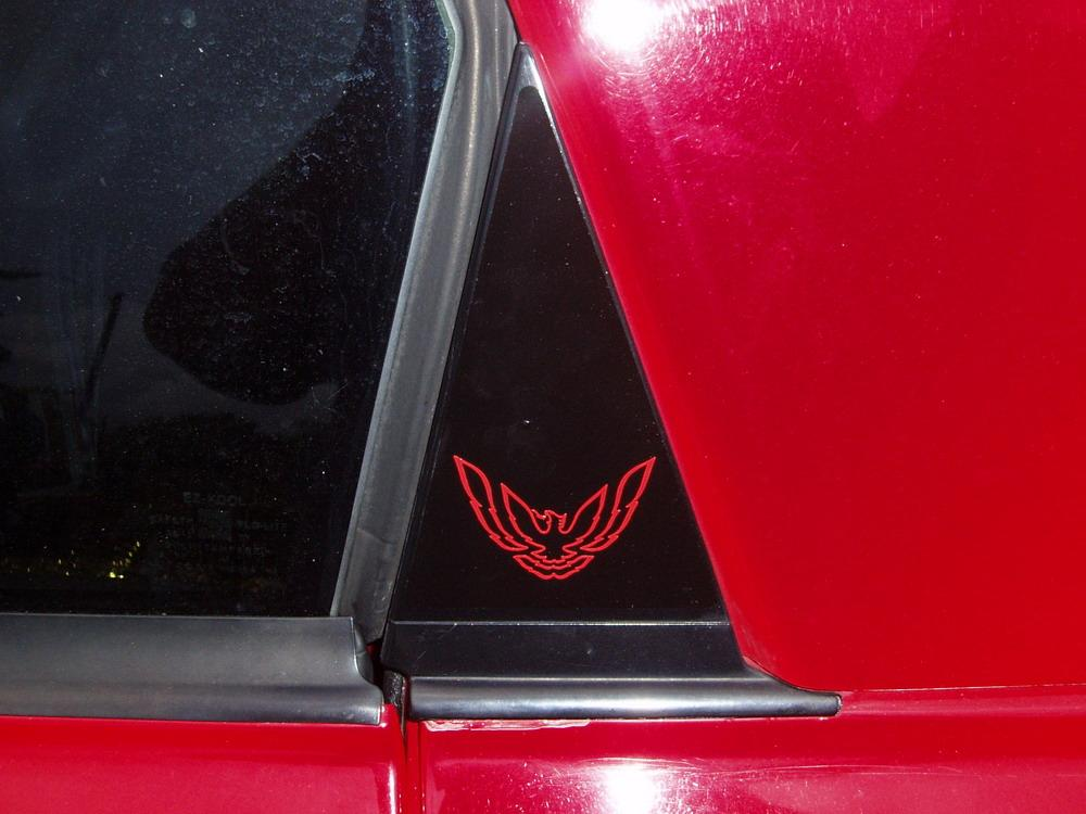 93-02 Firebird/Formula/Trans Am Sail Panel Decals