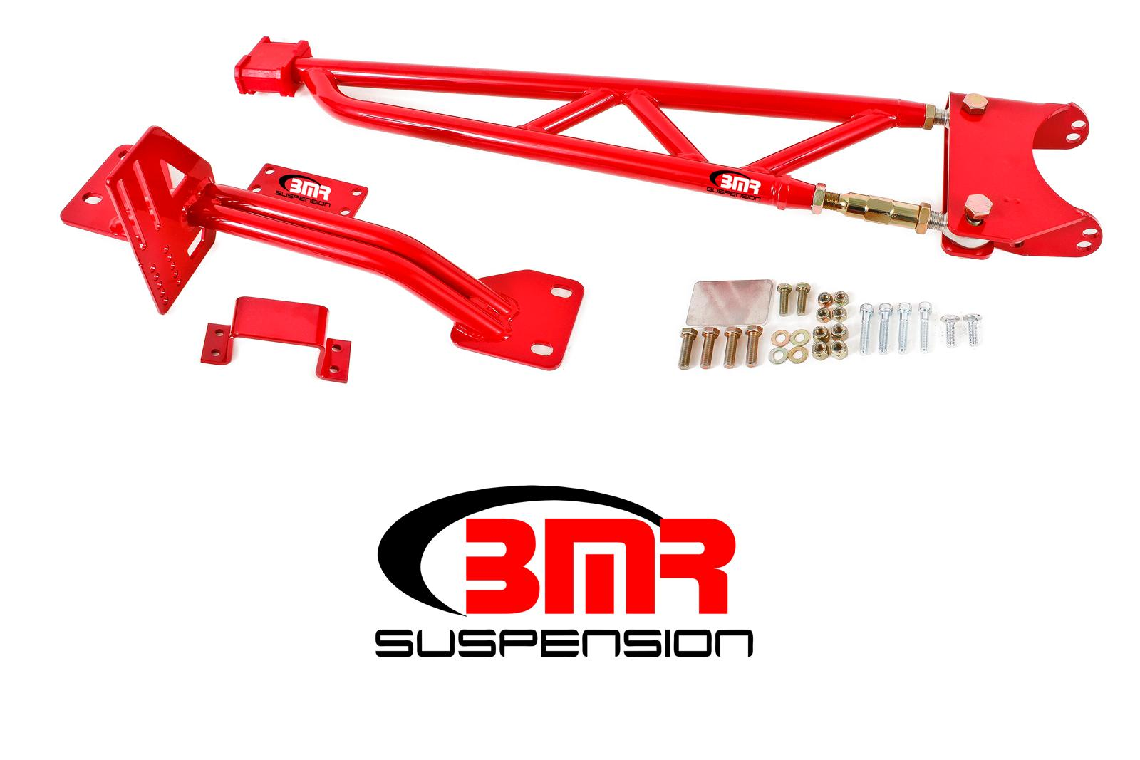 93-02 Fbody BMR Suspension Tunnel Mount Torque Arm w/o Driveshaft Safety Loop - For Long Tube Headers