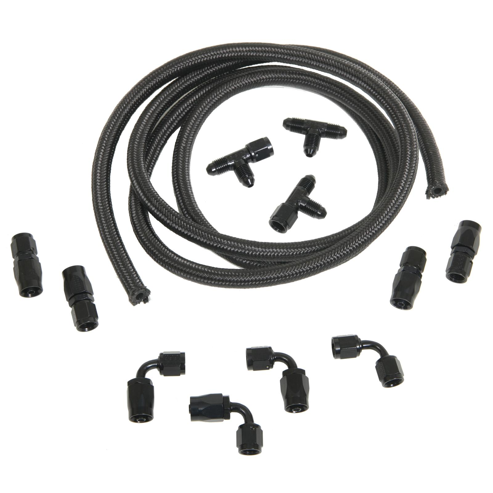 Trick Flow GM LS Engine Steam Line Plumbing Kit