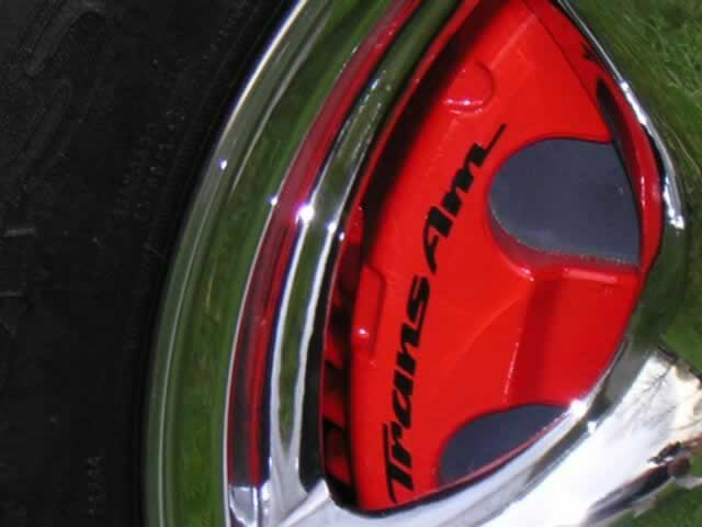 93 02 Firebird Formula Trans Am Caliper Decals Ws6store Com