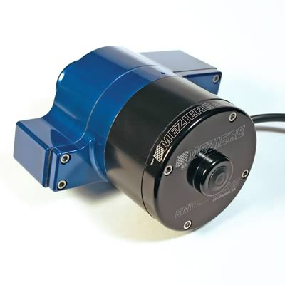 Meziere High Flow Remote Electric Water Pump - Blue