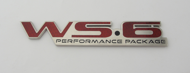 96-02 Fbody Performance Years WS6 Emblem