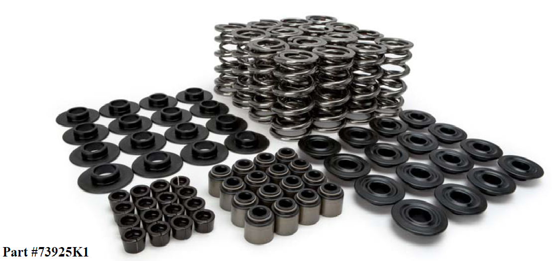 "LS Series Lunati Dual Valve Spring Kit (.660"" Lift)"