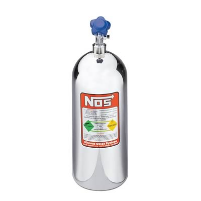 "NOS Bottle 10 lb (19"" x 7"") - Polished"