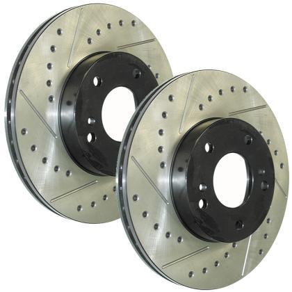 "98-02 LS1/V6 Powerslot ""SportStop"" Drilled/Slotted Rotor (Front Left)"